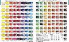 Daniel Smith Watercolor Color Chart Primary Daniel Smith Watercolor Color Chart Diy