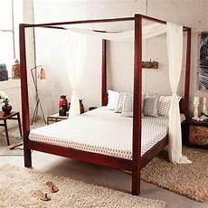 letto baldacchino legno letto a baldacchino etnico letti orientali