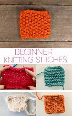 5 basic knitting stitches for beginners michele