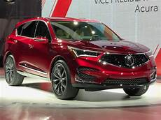 2019 acura rdx concept 2019 acura rdx prototype debuts with a 2 0l turbo the