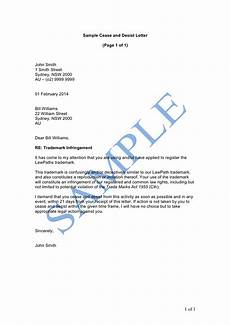 Sample Cease And Desist Letter Cease And Desist Letter Sample Lawpath