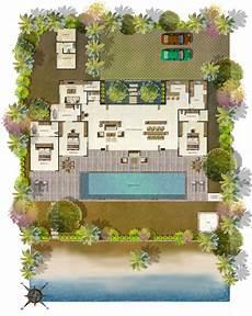 Floor Plan Of A Villa Modern Floor Plan Of Villa Studio Design Gallery