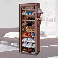 special 10 layer dust shoe storage cabinet closed zipper