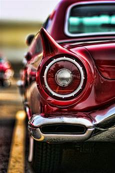 1957 Thunderbird Lights 1957 Ford Thunderbird Red Convertible By Gordon Dean Ii