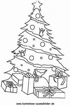 Malvorlage Weihnachtsbaum Mit Geschenken Weihnachtsbaum Weihnachten Ausmalen Malvorlagen