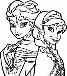 frozen coloring page wecoloringpage