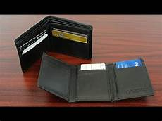 Trifold Or Bifold Premium Leather Bifold And Trifold Wallets Youtube