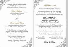 contoh surat undangan pernikahan 2019 kumpulan contoh