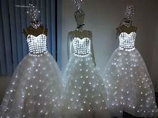 Led Lights To Wear Led Light Wedding Dress Head Piece Fashion Dresses Womens