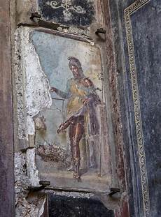 priapus fresco stock image image of ancient buried