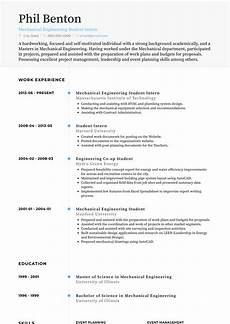 Sample Cv For Engineering Students Student Intern Resume Samples And Templates Visualcv