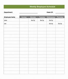 Monthly Employee Schedule Template Free Employee Schedule Template 14 Free Word Excel Pdf
