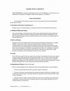 Graphic Design Freelance Contract Template Freelance Graphic Design Contract