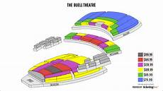 Temple Buell Seating Chart Denver The Buell Theatre Seating Chart