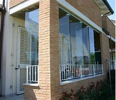 veranda a vetri pareti in vetro sistemi ad impacchettamento vetreria a