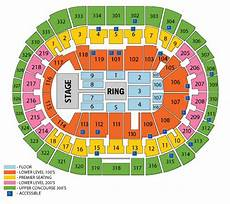 Wwe Dallas Seating Chart Wwe Staples Center Seating Chart