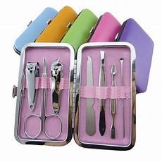 Nail Care Tools 7pcs Set Portable Stainless Steel Nail Clipper Kits Nail