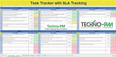 Task Tracker Excel Simple Excel Task Tracker With Sla Tracking Project