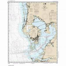 Noaa Charts For Sale Noaa Chart By Paradise Cay Tampa Bay And St Joseph Sound