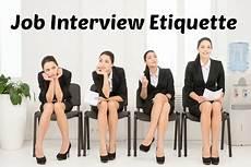 Job Etiquette Free Interview Tips And Techniques