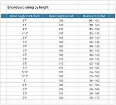 Snowboard Sizing Chart Mens Coolwintergear Com Snowboard Sizing Guide Sizing By Height