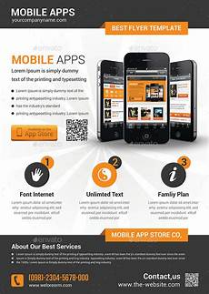 Make Flyers App Mobile App Flyer Template By Afjamaal Graphicriver