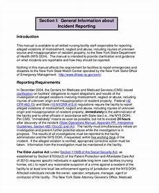 Eiu Incident Report Free 42 Incident Report Examples Amp Samples In Pdf