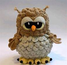 hoot hoot is this the cutest crochet owl amigurumi