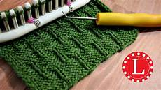 loom knitting stitch patterns the caterpillar on any