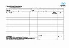 Excel Log Sheet 50 Printable Log Sheet Templates Direct Download ᐅ