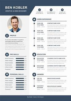 Creative Word Cv Templates Professional Amp Creative Cv Template Download For Word