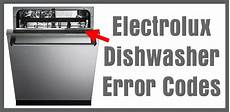 Electrolux Dishwasher Delay Lights Electrolux Dishwasher Error Codes How To Clear What To