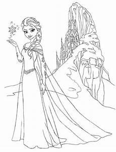 Ausmalbilder Und Elsa Schloss Ausmalbilder Elsa Ausmalbilder Coloring Pages
