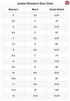 Jordan Shoe Size Conversion Chart J23 Iphone App On Twitter Quot Jordan Women S Gt Men S Size
