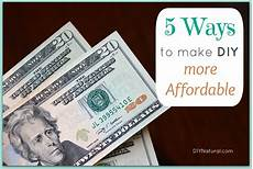easy ways to save money by doing more things yourself