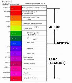 Shampoo Ph Levels Chart Ph Scale 171 Kaiserscience