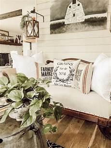 Farmhouse Sofa Pillows 3d Image by Farmhouse Decor Deconstructed Sofa Greenery Antique Wash