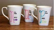 Mug Designs Diy Teacher Gift With Free Printable
