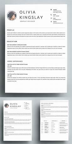 Clean Resume Template Free Resume Templates Design Design Graphic Design Junction