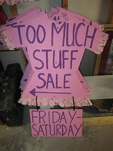 How To Make A For Sale Sign Yard Garage Sale Signs Printed On Paper And Taped To