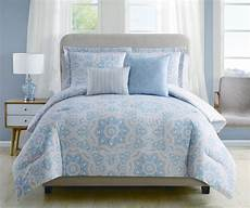 9 christine blue coral reversible bed in a bag set