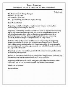 Cover Letter For Attorney Position Cover Letter Sample