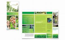 Brochure Microsoft Lawn Mowing Service Brochure Template Word Amp Publisher
