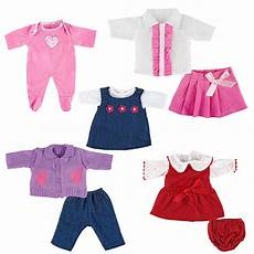 i my baby clothes us you me 5 pack 12 14 inch doll playtime color