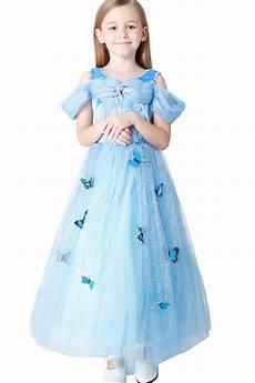 Light Blue Costume Light Blue Cinderella Princess Dress Kids Costume