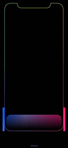 Wallpaper Iphone X Black by Xの壁紙 カラードック The X Color Dock Mysterious Iphone Wallpaper