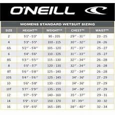 Gotcha Wetsuit Size Chart Wetsuit Size Chart Guide H2o Sports