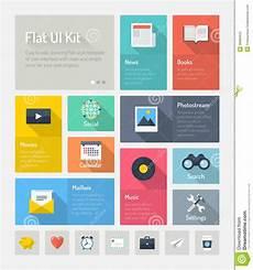 web e design de aplicativos flat infographic website user interface concept stock