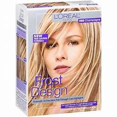 Loreal Frost And Design 2 Packets Of Lightening Powder Frost Amp Design Champagne For Light To Light Brown