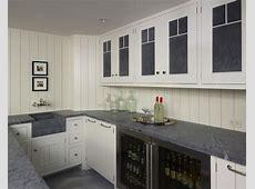 Glass Front Mini Fridge   Cottage   basement   Hickman Design Associates